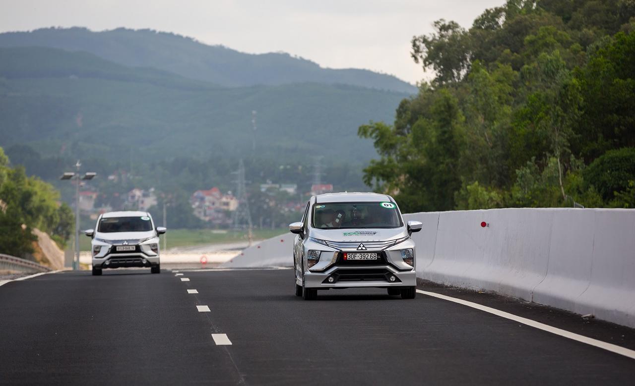 """Xpander chinh phục thử thách tiêu thụ chỉ 5.06L cho 100Km trong cuộc thi """"Lái xe tiết kiệm nhiên liệur"""