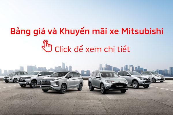 Bảng giá xe Mitsubishi tháng 09/2019