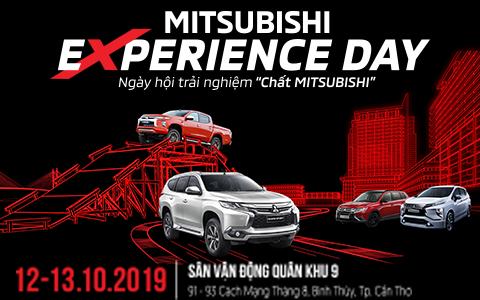 MITSUBISHI EXPERIENCE DAY – ĐĂNG KÝ TRẢI NGHIỆM CÁC DÒNG XE MITSUBISHI TẠI CẦN THƠ