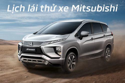 Lịch trưng bày và lái thử xe Mitsubishi tháng 11/2019