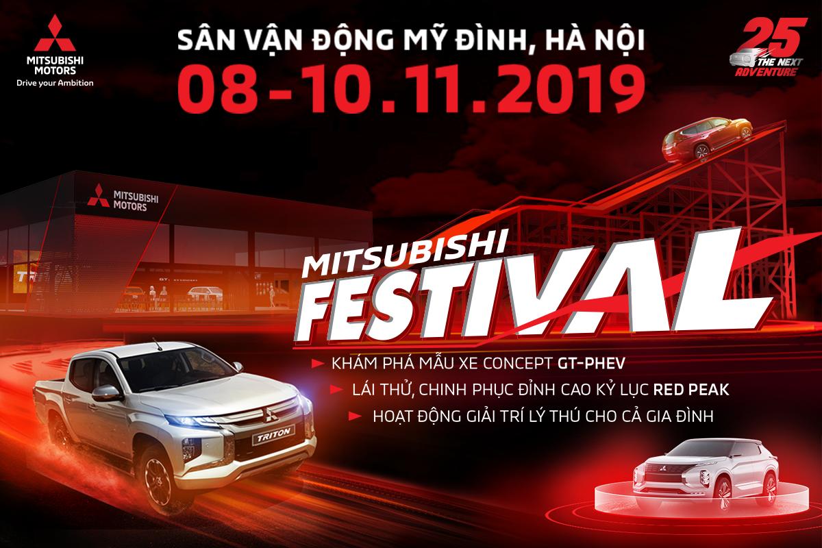 """SỰ KIỆN """"MITSUBISHI FESTIVAL 2019"""" TẠI HÀ NỘI TỪ NGÀY 08-10/11/2019"""