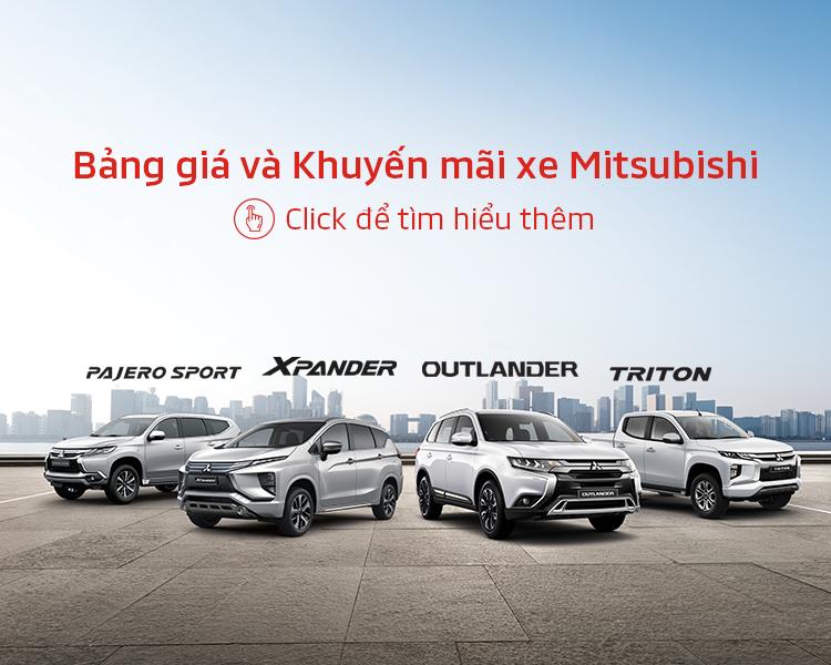Bảng giá xe Mitsubishi tháng 04/2020r