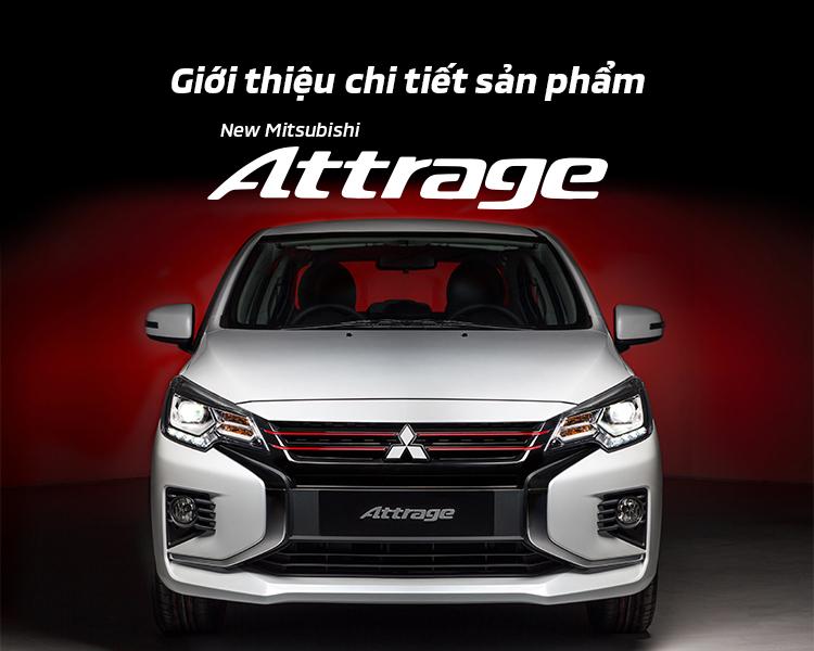 Giới thiệu chi tiết mẫu xe Mitsubishi Attrage 2020r