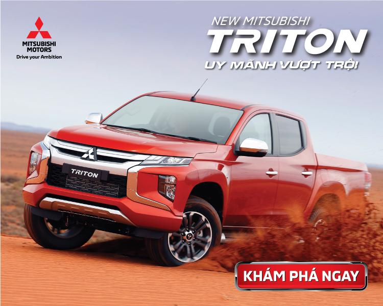 Giới thiệu chi tiết mẫu xe Mitsubishi Triton 4×2 AT MIVECr