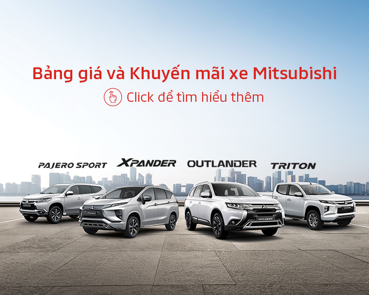 Bảng giá xe Mitsubishi tháng 07/2020