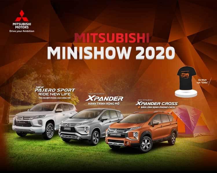 MITSUBISHI MINISHOW 2020 – CHUỖI SỰ KIỆN TRẢI NGHIỆM XE MITSUBISHI TẠI CÁC TRUNG TÂM THƯƠNG MẠI TRÊN TOÀN QUỐCr